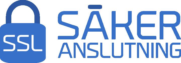 SSL Säker Anslutning Badge