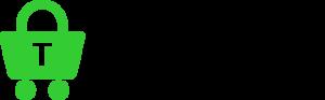 Trustly logo svart text